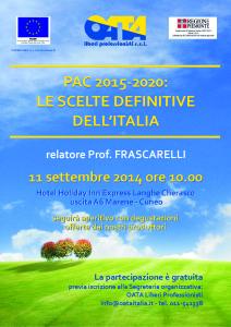 PAC 2014-2020 frascarelli