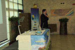 Prof. Frascarelli alla conferenza dell'11 settembre.